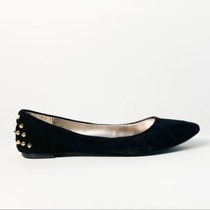 Steve Madden ballet flats with spikes shoes 8.5